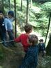 Seilbrückenbauen mit der JUWARU